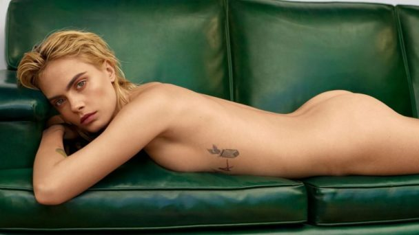 Supermodel Cara Delevingne Shows Her Gorgeous Butt 6
