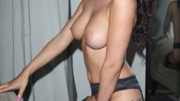 Topless India Reynolds Takes Her Panties Off Too 12