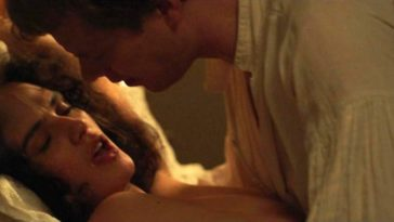 Topless Jessica Brown Findlay Gets Fucked in Missionary 13