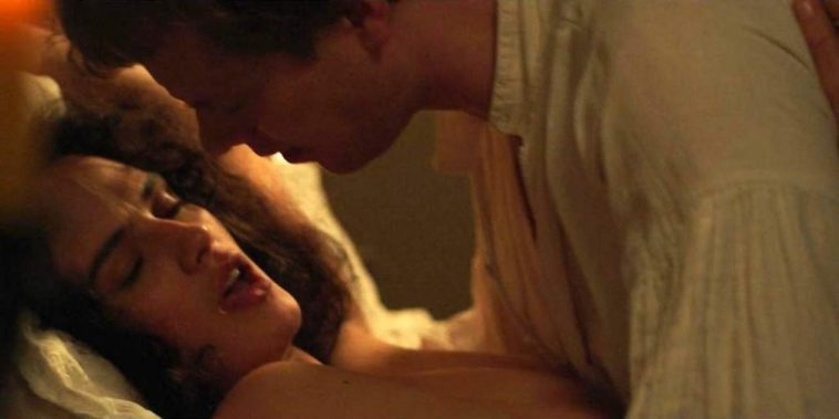 Topless Jessica Brown Findlay Gets Fucked in Missionary 7