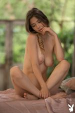 Young Babe Mila Azul Shows Her Boobs As Well 24