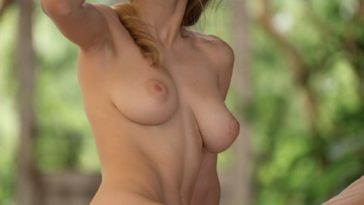 Busty Beauty Mila Azul Shows Off in the Nude 18