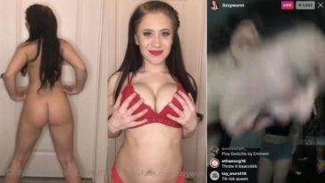 FUL VIDEO: Lizzy Wurst Nude Youtuber Leaked! 9