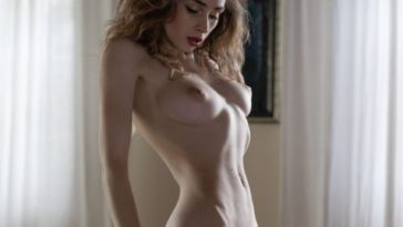 Naked Yana West Flaunting Her Big Natural Breasts 24