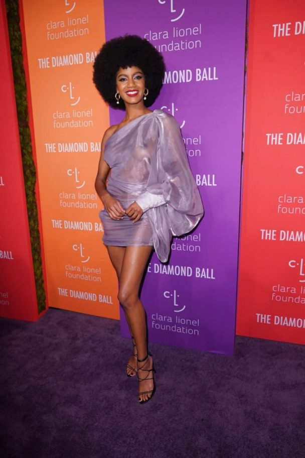 Ebonee Davis' See-Through Dress is Pretty Amazing 2