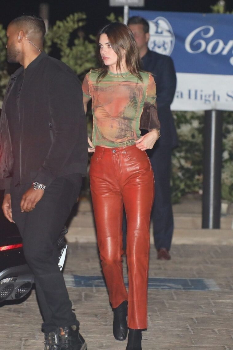 Kendall Jenner See-Through 7
