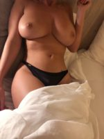 Pouty Blonde Rhian Sugden Shows Her Ginormous Tits 42