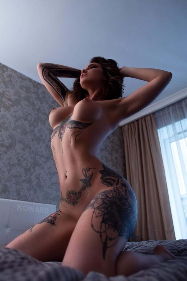 Inked and Insatiable Anastasia Snegova Shows Her Nude Bod 5