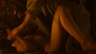 Naked Hannah Murray Gets Plowed by Charlie Manson 16