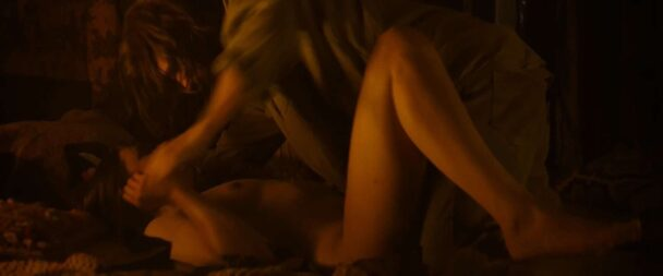 Naked Hannah Murray Gets Plowed by Charlie Manson 8