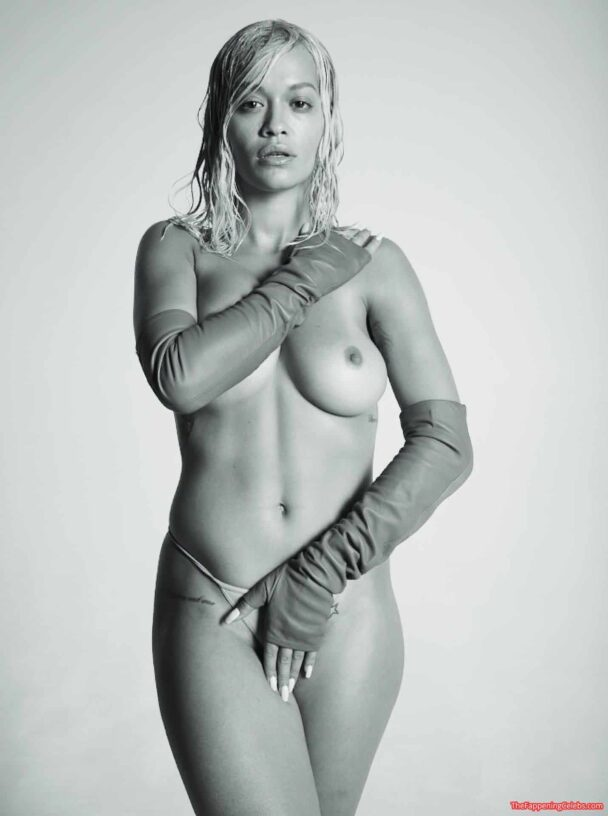 Rita Ora Sexy Topless The Fappening 2020 Leaks 12