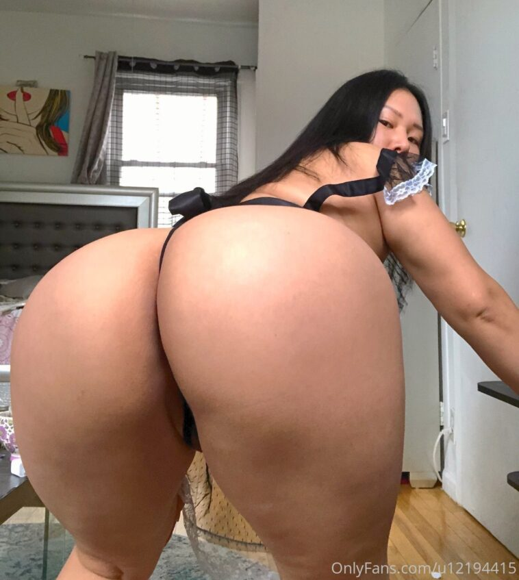 Meganthekim Nude Onlyfans Gallery Asian Thicc - 7