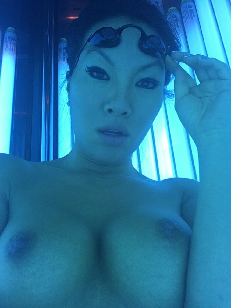 Rare and BTS Photos from Asa Akira's OnlyFans 7
