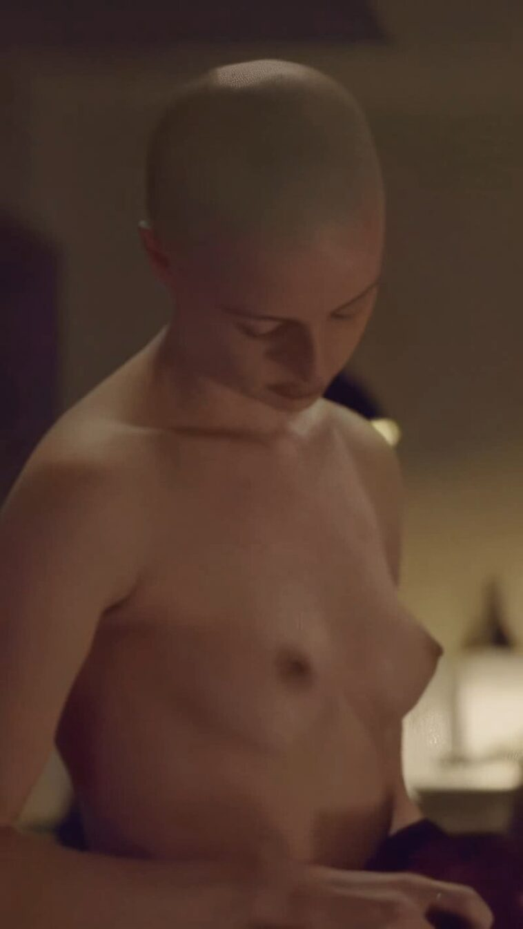 Kacey Rohl Topless 7