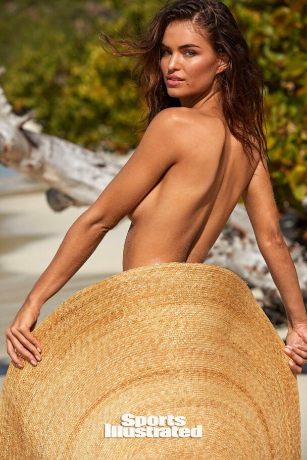 Robin Marjolein Holzken Covers Her Ass with a Hat 10