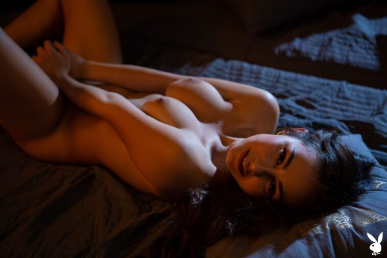 Sensual Photoshoot Featuring Naked Sophie Limma 7