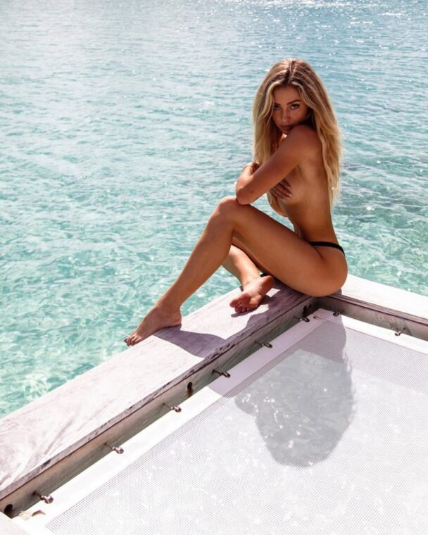 Astonishing Charly Jordan Continues Teasing the Fans 1