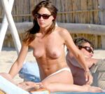 Blast from the Past: Topless Claire Forlani Sunbathing 24