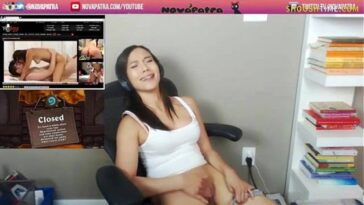 FULL VIDEO: Streamer Nova Patra Nude Masturbation On Twitch Live! *NEW* 46