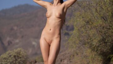 Naked Hiker Ilvy Kokomo Showing Her Immaculate Bod 16