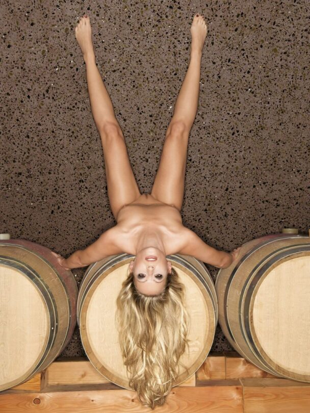 European Blonde Miriam Schwarz Teasing You in Playboy 1