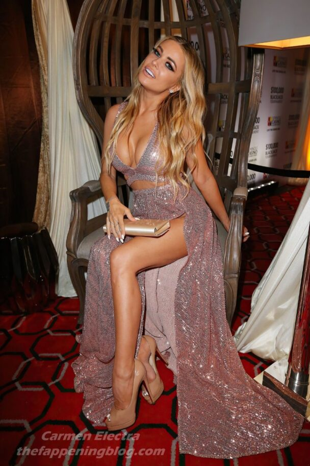 Carmen Electra Cleavage 10
