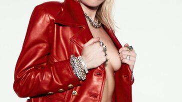 Miley Cyrus Topless 15
