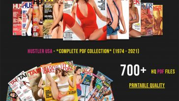 For The First Time Ever, Download The Complete Hustler Adult Magazine Digital Collection (1974 - 2021) 19