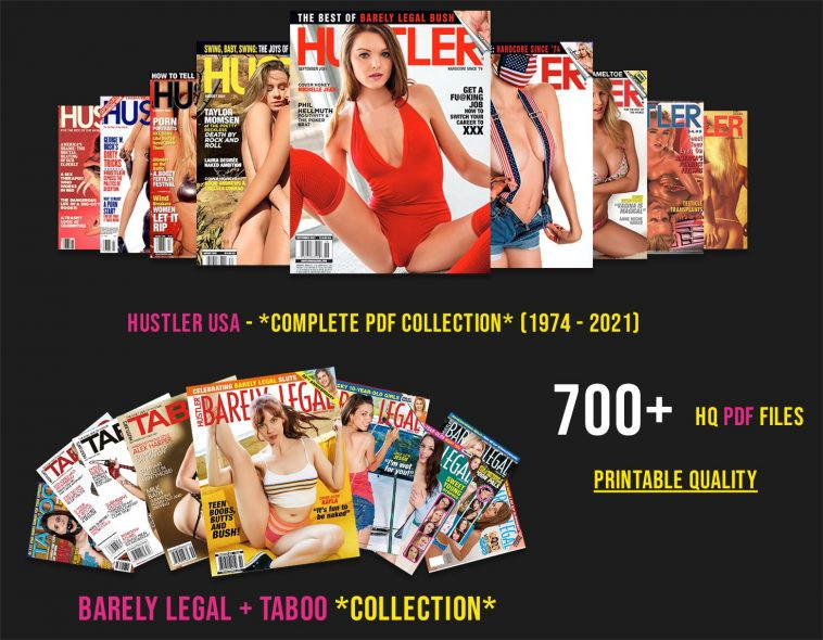 For The First Time Ever, Download The Complete Hustler Adult Magazine Digital Collection (1974 - 2021) 7